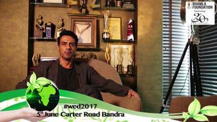"""""""Take Care Of Mother Earth Like You'll Take Care Of Your Own Mother"""": Arjun Rampal"""