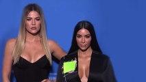 Kim & Khloe Kardashian Together At NBCUniversal 2017 Upfront Presentation