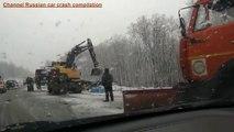 10 Accidents choquants Pris sur la caméra! ✦ Les accidents de la route en Rus