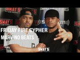 Friday Fire Cypher: Marvino Beats Supplies the Fire Production Behind Sway in the Morning Cypher