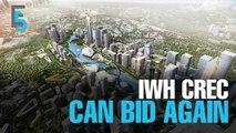 EVENING 5: IWH Crec can still bid for Bandar Malaysia