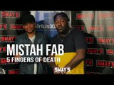 """Mistah F.A.B. Smashes an off the Top Warriors Themed 5 Fingers of Death + Talks """"Son Of A Pimp Pt.2"""""""