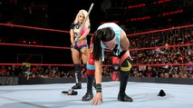 Alexa Bliss Attacks Bayley With Kendo Stick On Raw - WWE Raw Live 16 May 2017