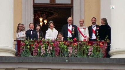 Le prince Norvégien Sverre Magnus fait un DAB