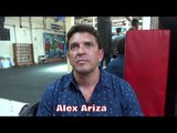 "ALEX ARIZA ""EVERYTHING TO GAIN FOR GOLOVKIN, EVERYTHING TO LOSE FOR CANELO"" TALKS CANELO VS GGG"