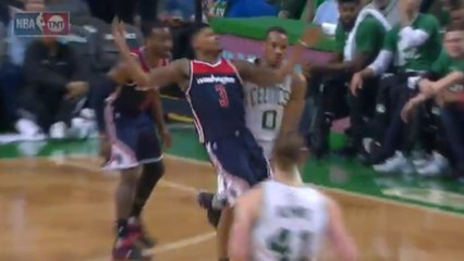 Bradley Beal FLOPS Hard After Taking Invisible Sniper Fire