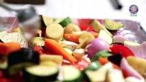 Roasted Vegetable Salad Recipe   Quick & Easy Baked Veg Salad   Ruchis Kitchen