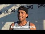 Josesito Lopez - UFC vs Boxing; Baseball fan - EsNews Boxing