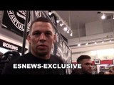 Nate Diaz Why A Fight vs Floyd Mayweather Makes More Sense Than Conor Mayweather EsNews Boxing