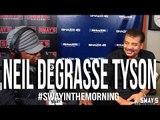 Neil deGrasse Tyson Responds to B.o.B's Flat Earth Talk + Introduces Nephew TYSON