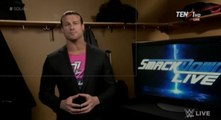 Dolph Ziggler Backstage Talks About Nakamura On Smackdown Live : Smackdown live 16 May 2017