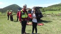 Alpes de Haute-Provence : la préparation de l'entrainement des sapeurs-pompiers sauveteurs en montagne du SDIS 04