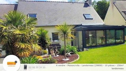 A vendre - Maison/villa - Landerneau (29800) - 10 pièces - 150m²