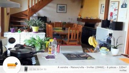A vendre - Maison/villa - Irvillac (29460) - 6 pièces - 120m²