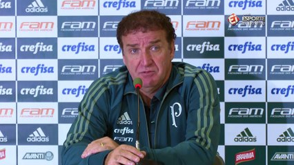 Após eliminação do Flamengo, Cuca pede atenção ao Palmeiras: 'Pela grandeza tem que passar'