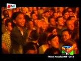FUNERAILLES DE MANDELA - Hommage des artistes