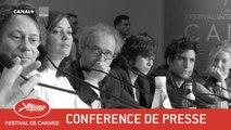 Les Fantômes d'Ismael - Conférence de presse - VF - Cannes 2017