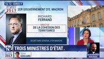 Gouvernement: quelle sera la mission de Richard Ferrand, ministre de la Cohésion des territoires?