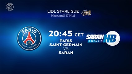 PSG Handball - Saran : la bande-annonce
