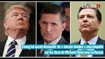 Etats-Unis : Donald Trump accusé d'avoir demandé au patron du FBI l'arrêt d'une enquête