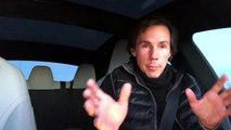 Tesla Car Owner Driving with No Hands !!  Self Driving Cars Report