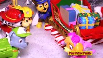 Paw Patrol Family PAW PATROL Nickelodeon Paw Patrol Helps Santa Clause A Paw Patrol Toy Vi