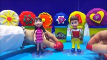 PAW Patrol Play Doh Surprise Toys Ryder Marshall Rubble Rocky Skye Chase Juguetes de Patru