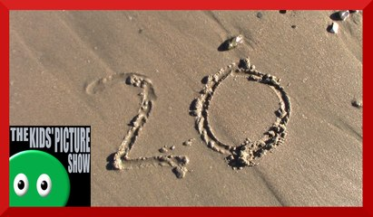 Sand Counting 1 to 20 - The Kids' Picture Show (Fun & Educational Learning Video)