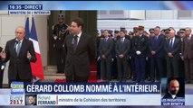 """""""Mon premier devoir sera de protéger"""" Les premiers mots de Gérard Collomb, ministre de l'Intérieur"""