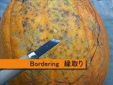 """Halloween Pumpkin """"Zyuden Sentai Kyoryuger"""" ハロウィンかぼちゃ「獣電戦隊キョウリュウジャー」"""