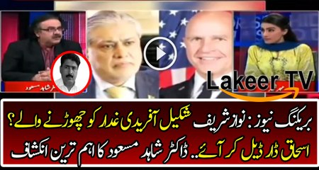 Nawaz Sharif May Release Shakeel Afridi