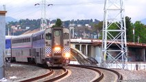 AMTRAK TRAINS (April 26th - May 16th, 2016) + BNSF METROLINK/TRAINS