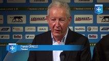 Les premiers mots de Francis Graille, Président de l'AJ Auxerre