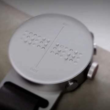 This braille smartwatch helps the visually impaired [Mic Archives]