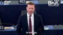 Message de soutien aux homosexuels tchétchènes au Parlement européen