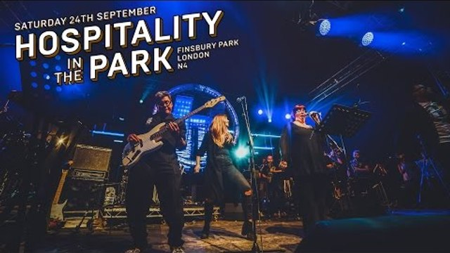 London Elektricity Big Band -  Elektricity Will Keep Me Warm (Live at Hospitality In The Park)