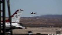 2009 Nellis AFB Air Show - F-22 Raptor & Nellis AFB Flyby