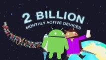 Android ya está instalado en 2.000 millones de dispositivos