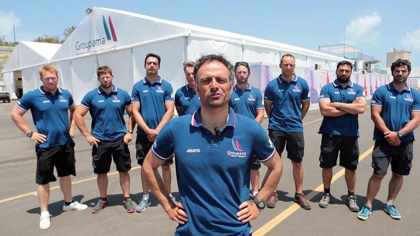 Message de Franck Cammas aux membres du Yacht Club de France - 16/05/2017