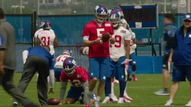 Will Davis Webb become the Giants QB of the future?