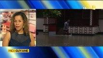 Reportage de ma nièce Alice pour Midi 1ère Guyane - De fortes pluies, Saint-Laurent du Maroni sous les eaux