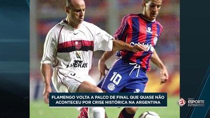 Flamengo x San Lorenzo: decisão em meio a um país em chamas em 2001