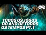 """TODOS OS """"JOGOS DO ANO"""" DE TODOS OS TEMPOS! - Pt 1 - Sétima Geração PS3/360/Wii"""