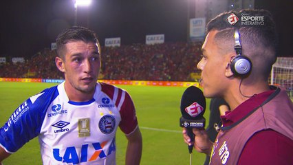 Juninho reclama bastante da arbitragem: 'Sempre erram contra o Bahia'