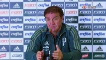 Cuca vê Palmeiras prejudicado com punição na Libertadores, mas acredita que jurídico pode reverter