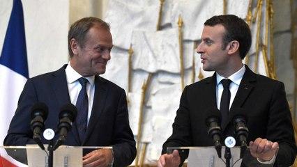 Макрон і Туск домовилися разом зміцнювати Європу