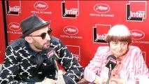"""JR : """"Je suis parti sillonner les mains, les yeux, les oreilles, et les petits doigts de pied d'Agnès."""""""
