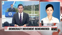 Pres. Moon attended 37th 5.18 pro-democracy movement ceremony