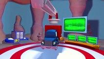 Carl el Super Camión y el Camión de Bomberos en Auto City  Dibujos animados para niños
