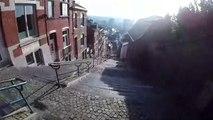 Les escaliers les plus extremes du monde : 374 marches sur une pente de 30%